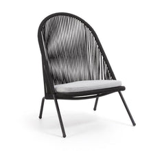 Laden Sie das Bild in den Galerie-Viewer, Loungechair Outdoor Stuhl / Rattan Style - WUUD