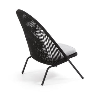 Loungechair Outdoor Stuhl / Rattan Style - WUUD
