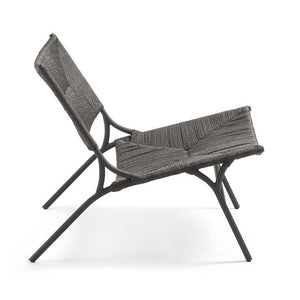 Lounge Chair Stuhl / Rattan Style Sessel - WUUD