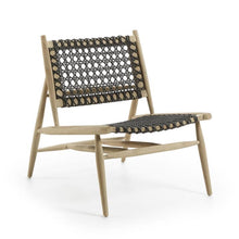 Laden Sie das Bild in den Galerie-Viewer, Loungechair Outdoor Stuhl / Wiener Geflecht Style Sessel - WUUD