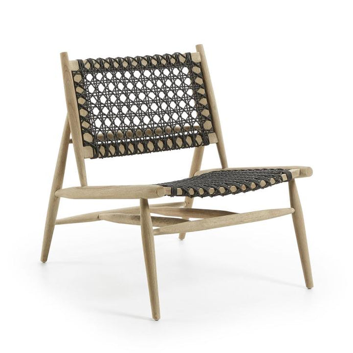Loungechair Outdoor Stuhl / Wiener Geflecht Style Sessel - WUUD