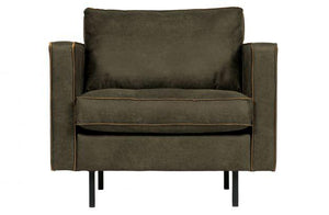 Rodeo Classic Leder Lounge Chair / Sessel - WUUD