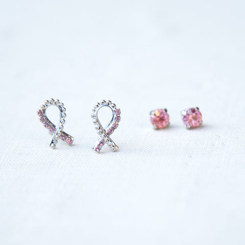 Breast Cancer Awareness Collection Earrings