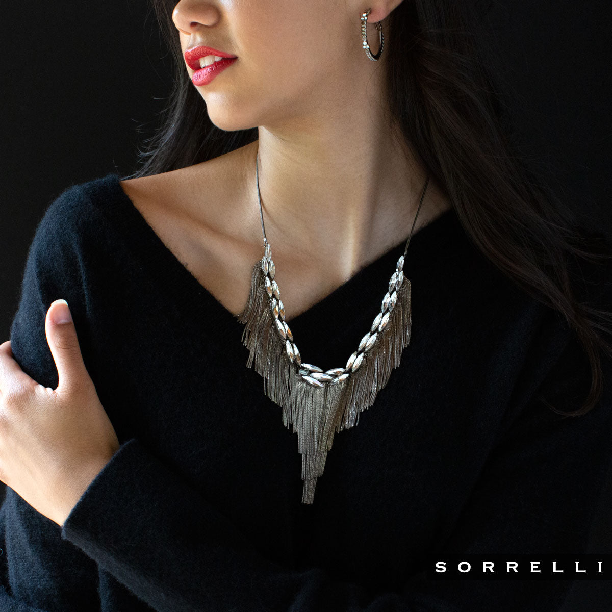 Slate Statement Necklace - 4NEF1ASCRY