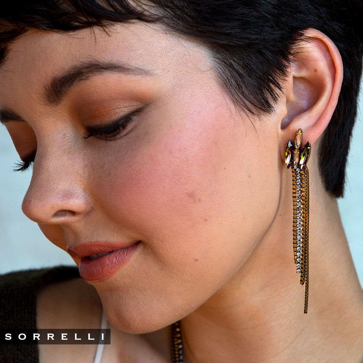 Banks Dangle Earrings - EEP11AGSDE
