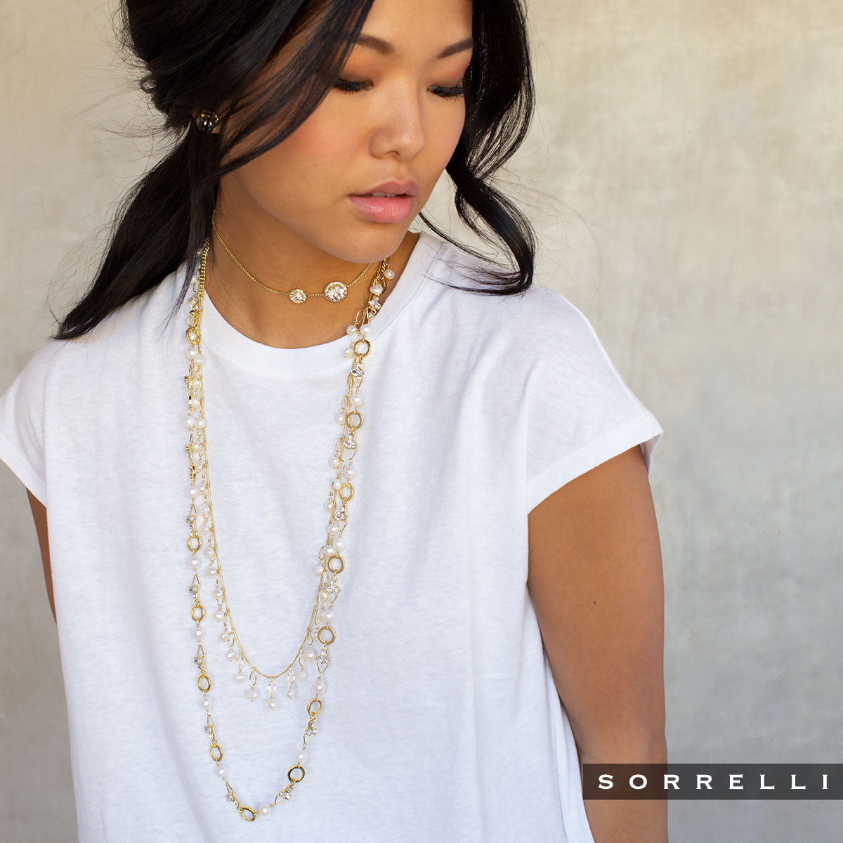 Hadley Long Necklace - NEB16BGMDP