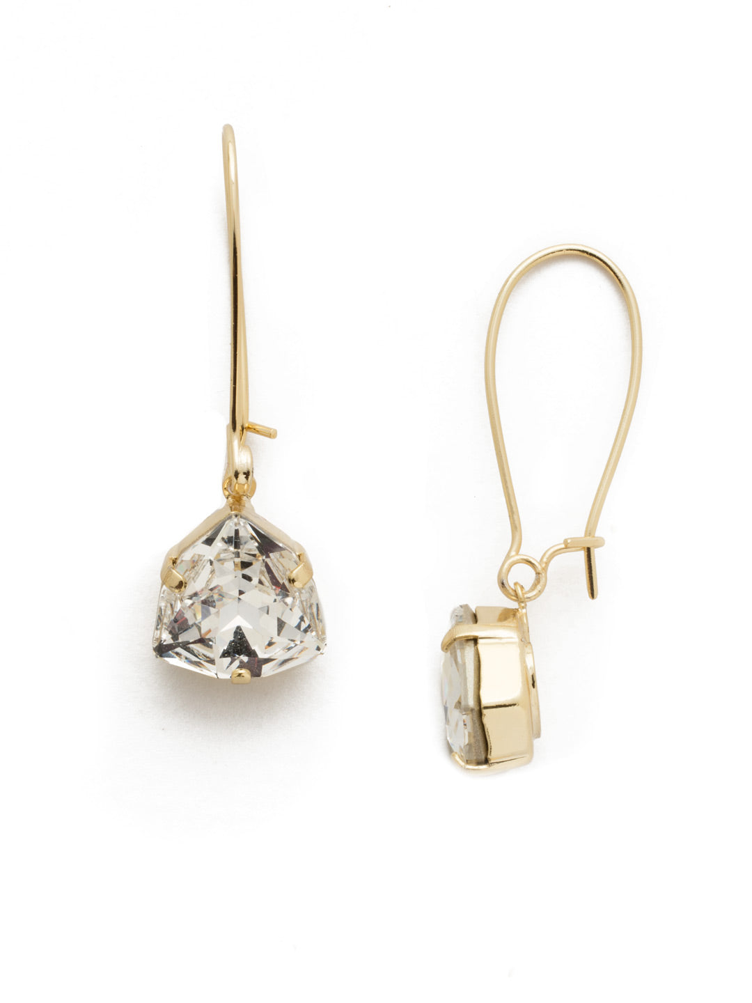 Daily Rep Crystal Dangle Earrings - 4EEK41BGCRY