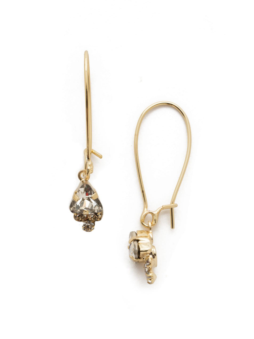 Halia Trinity Crystal Dangle Earrings - 4EEK6BGCRY