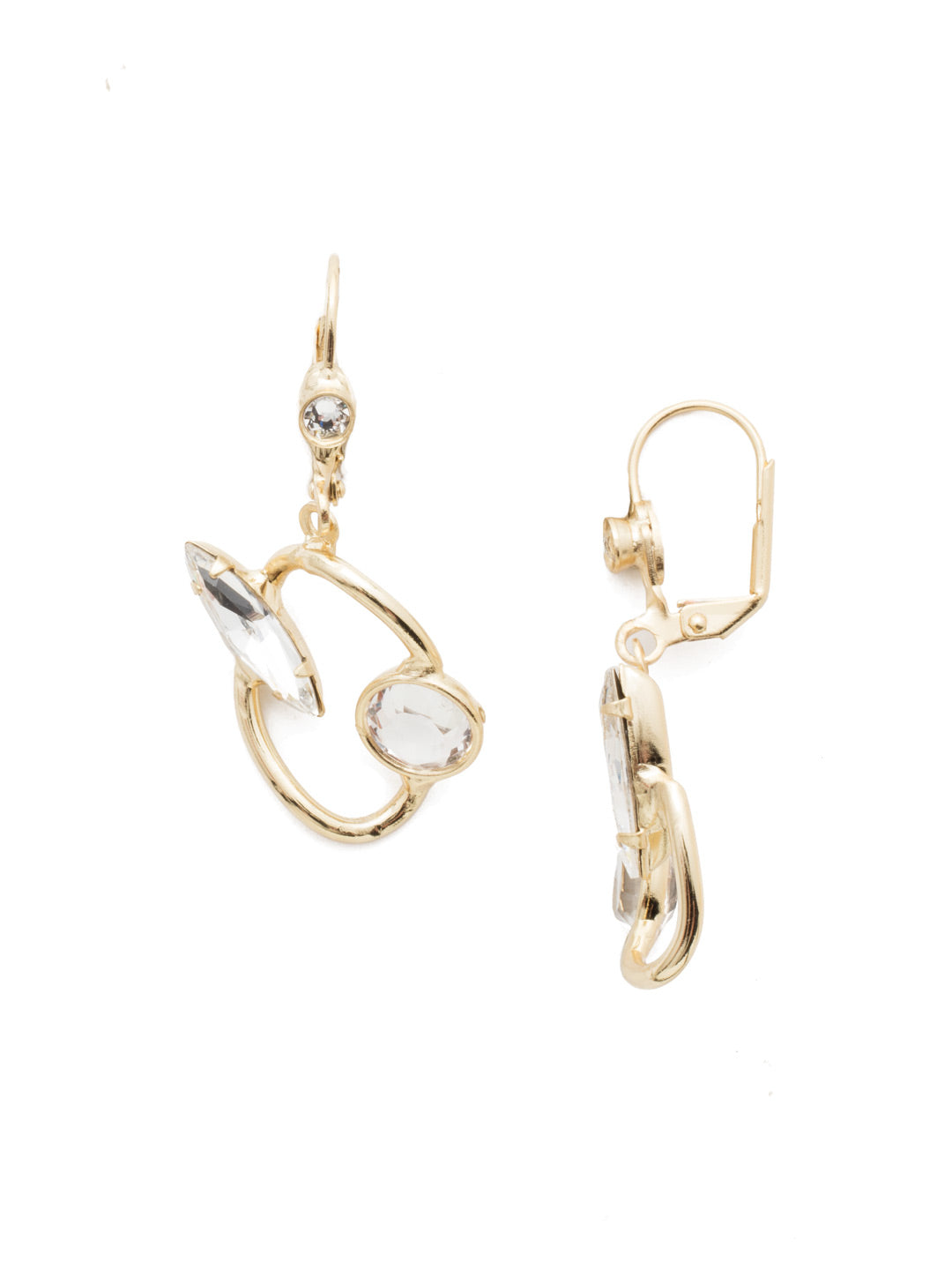 Trix Dangle Earrings - 4EEN11BGCRY