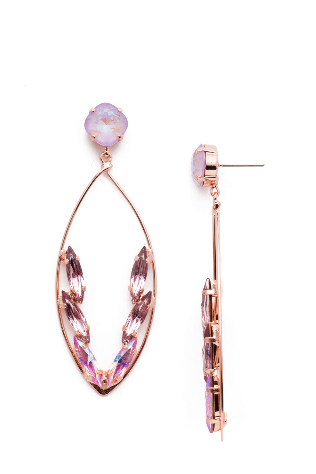 Estelle Statement Earrings - 4EEN164RGLVP