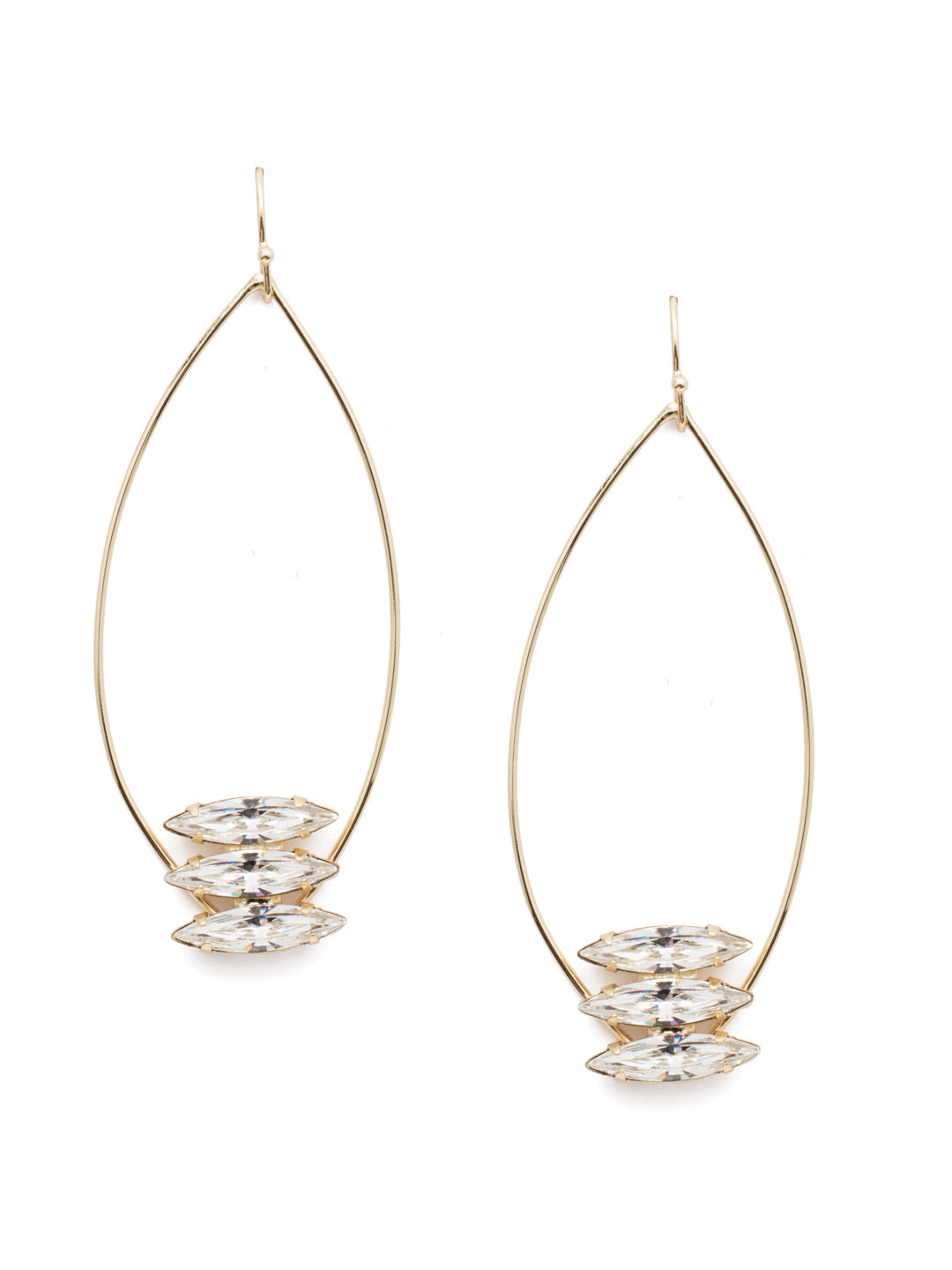 Alice Dangle Earrings - 4EEN21BGCRY