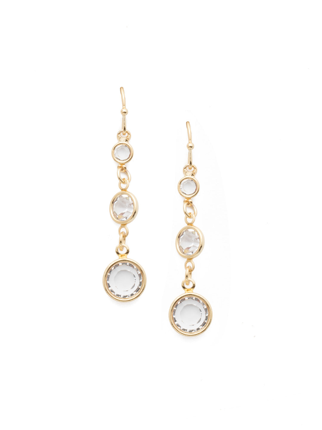 Carmella Dangle Earrings - 4EEN2BGCRY