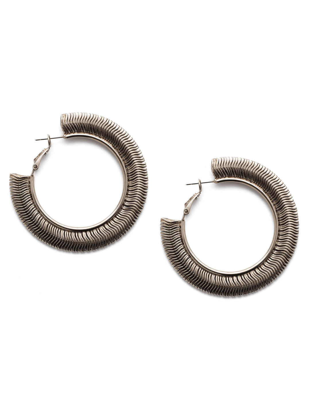Isadora Hoop Earrings - 4EEP2ASCRY