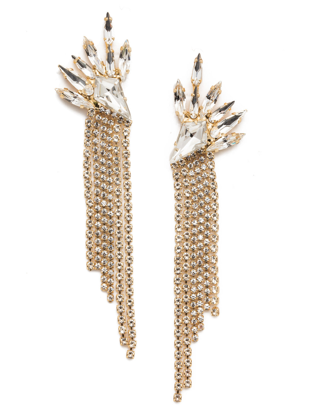 Tayshia Statement Earrings - 4EEP34BGCRY