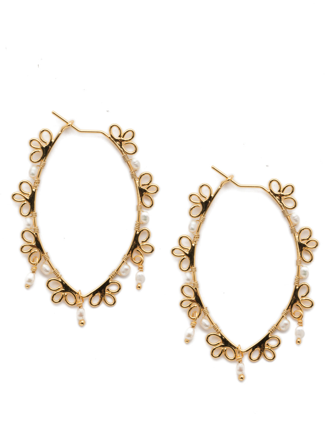 Kalina Hoop Earrings - 4EES91BGMDP