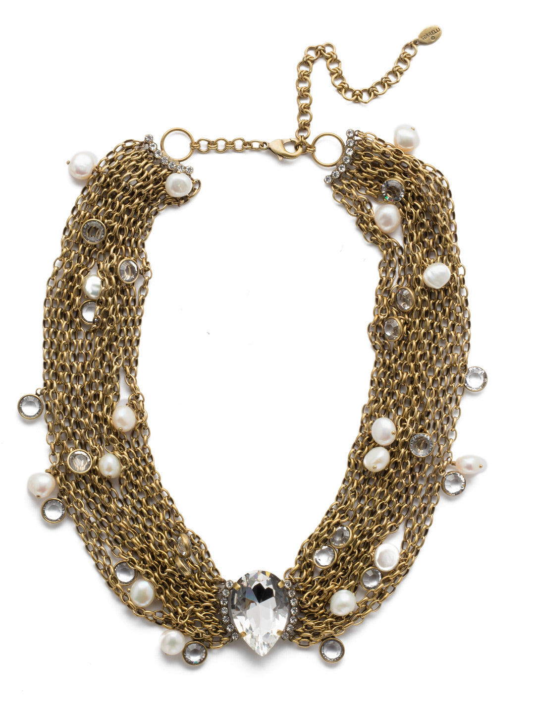 Oceane Classic Statement Necklace - 4NEF3AGCRY
