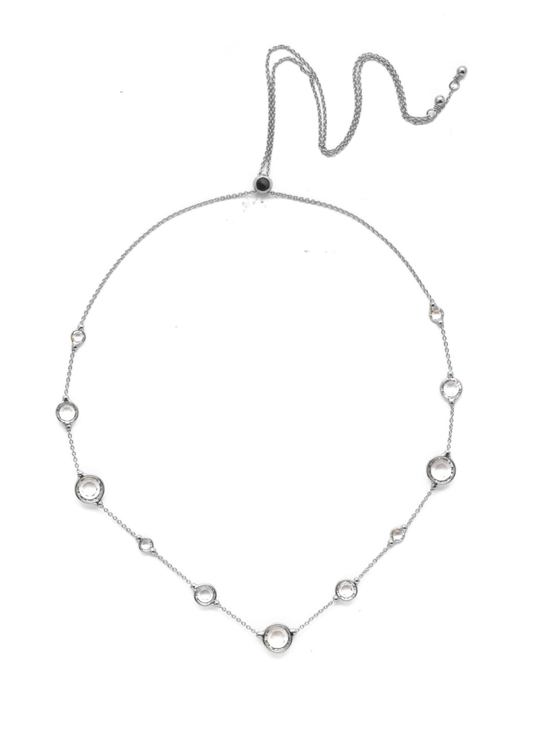 Inner Orbit Tennis Necklace - 4NEK34ASCRY