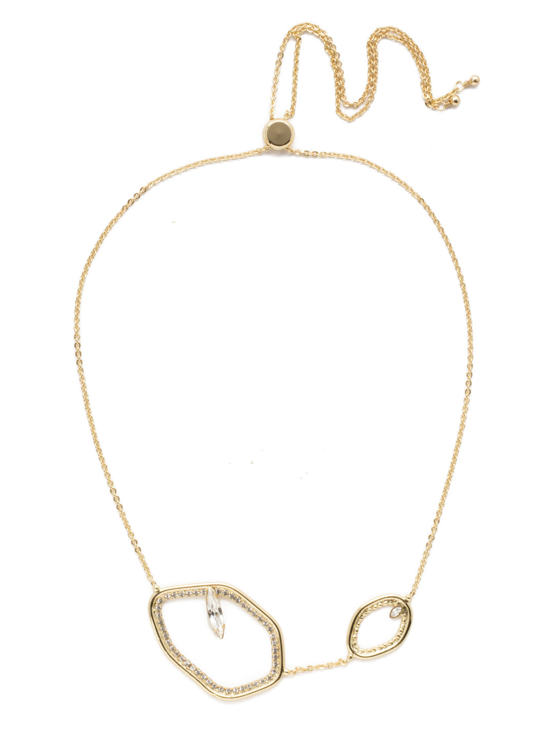 Aphelia Crystal Statement Necklace - 4NEK3BGCRY
