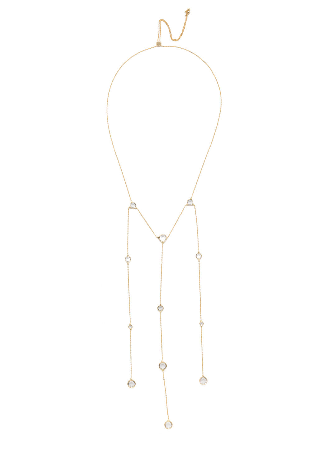 Arianna Long Necklace - 4NEN14BGCRY