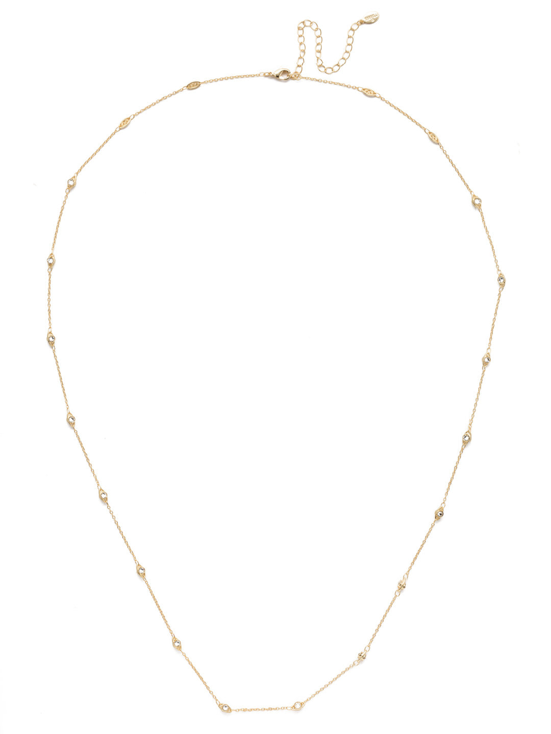 Danica Layered Necklace - 4NEN15BGCRY