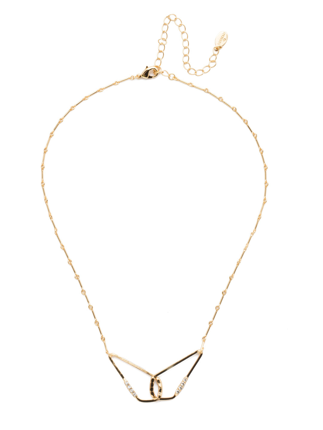 Maxine Tennis Necklace - 4NEP12BGCRY