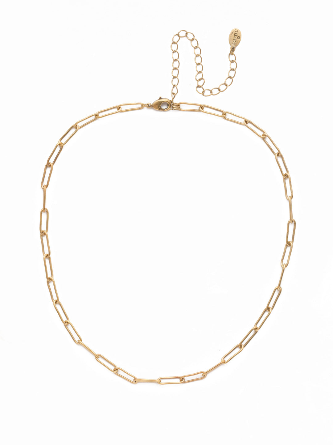 Jacinda Tennis Necklace - 4NES13AGCRY