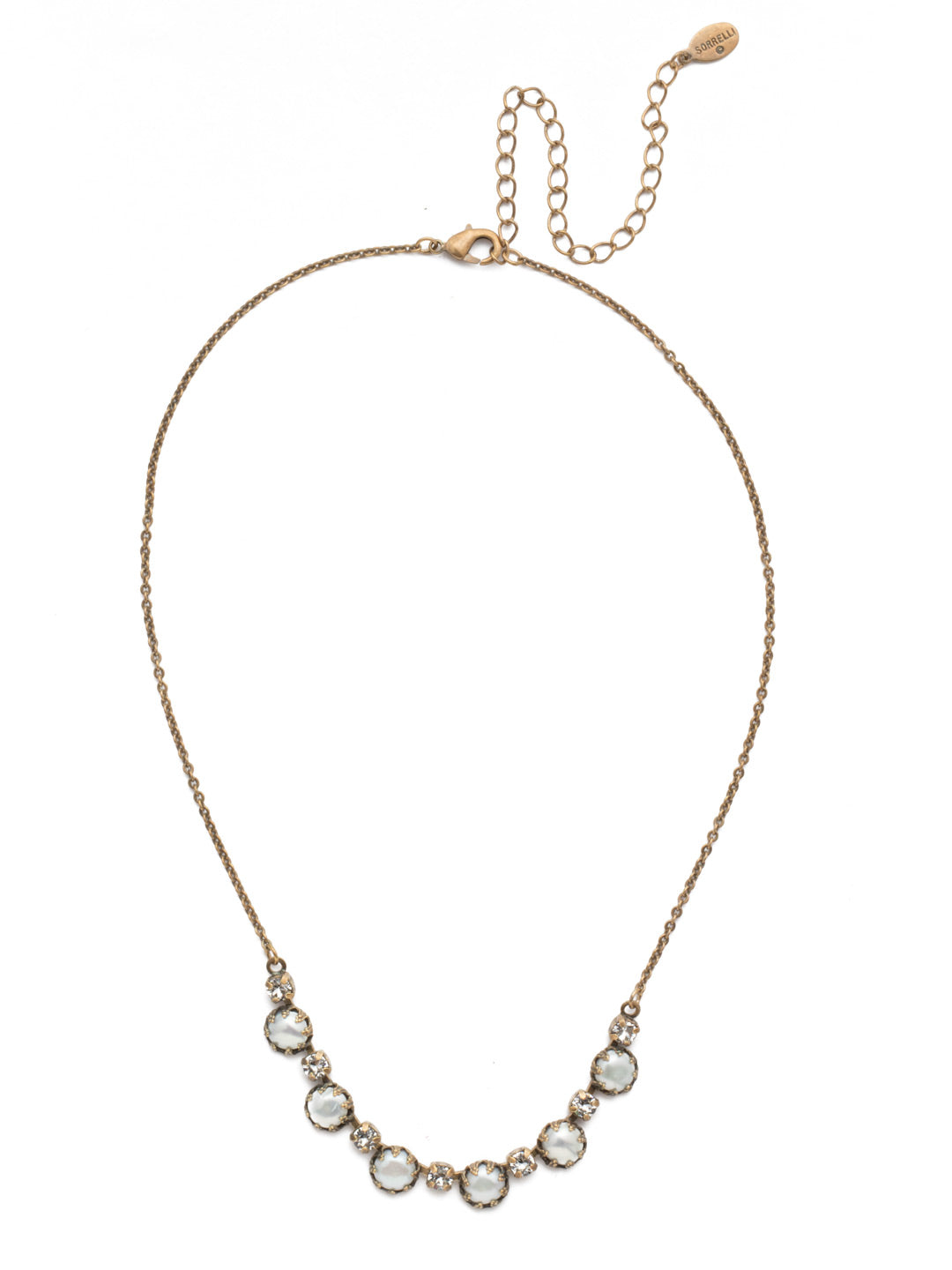 Alvina Tennis Necklace - 4NES2AGMDP