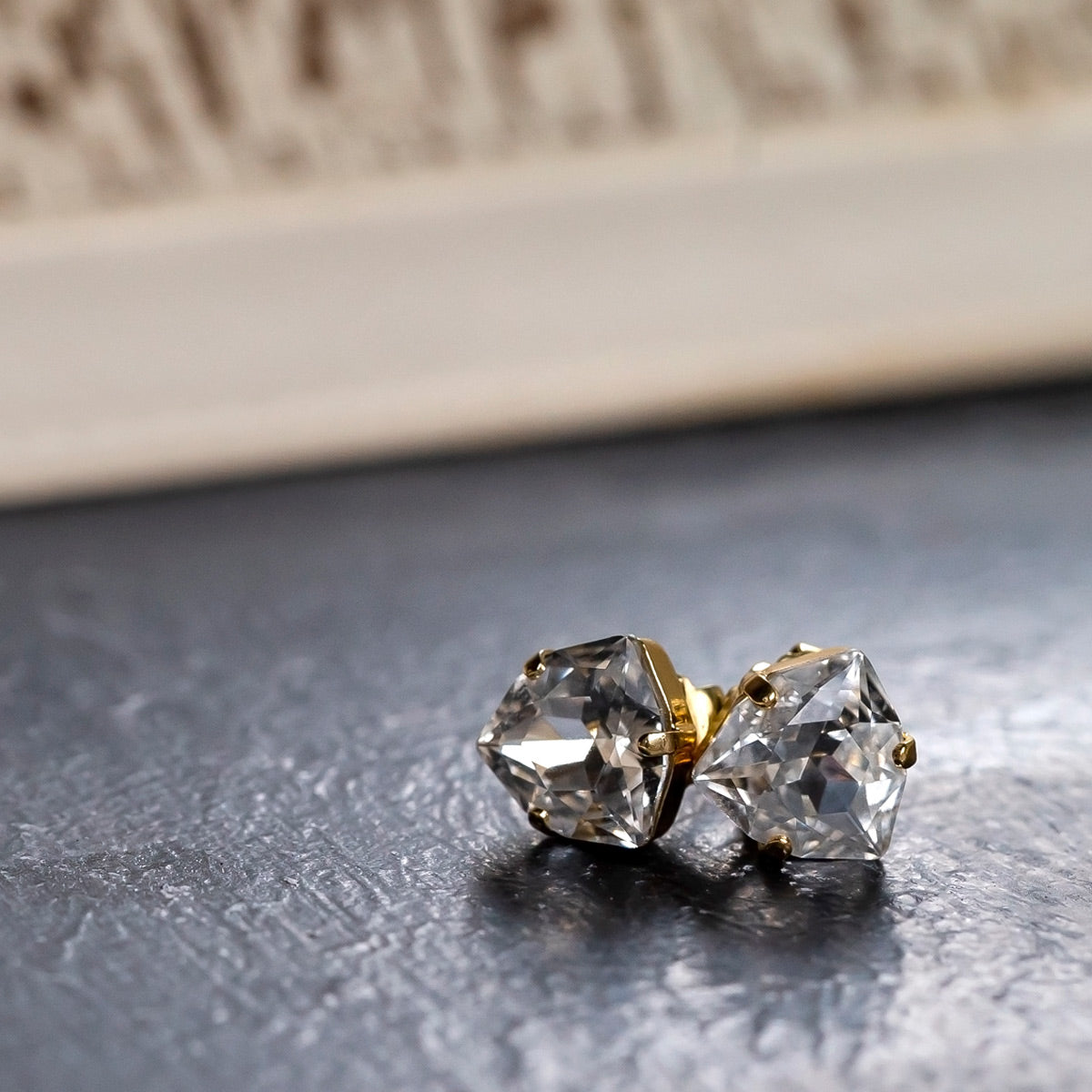 Perfectly Pretty Stud Earring - EDS10BGCRY