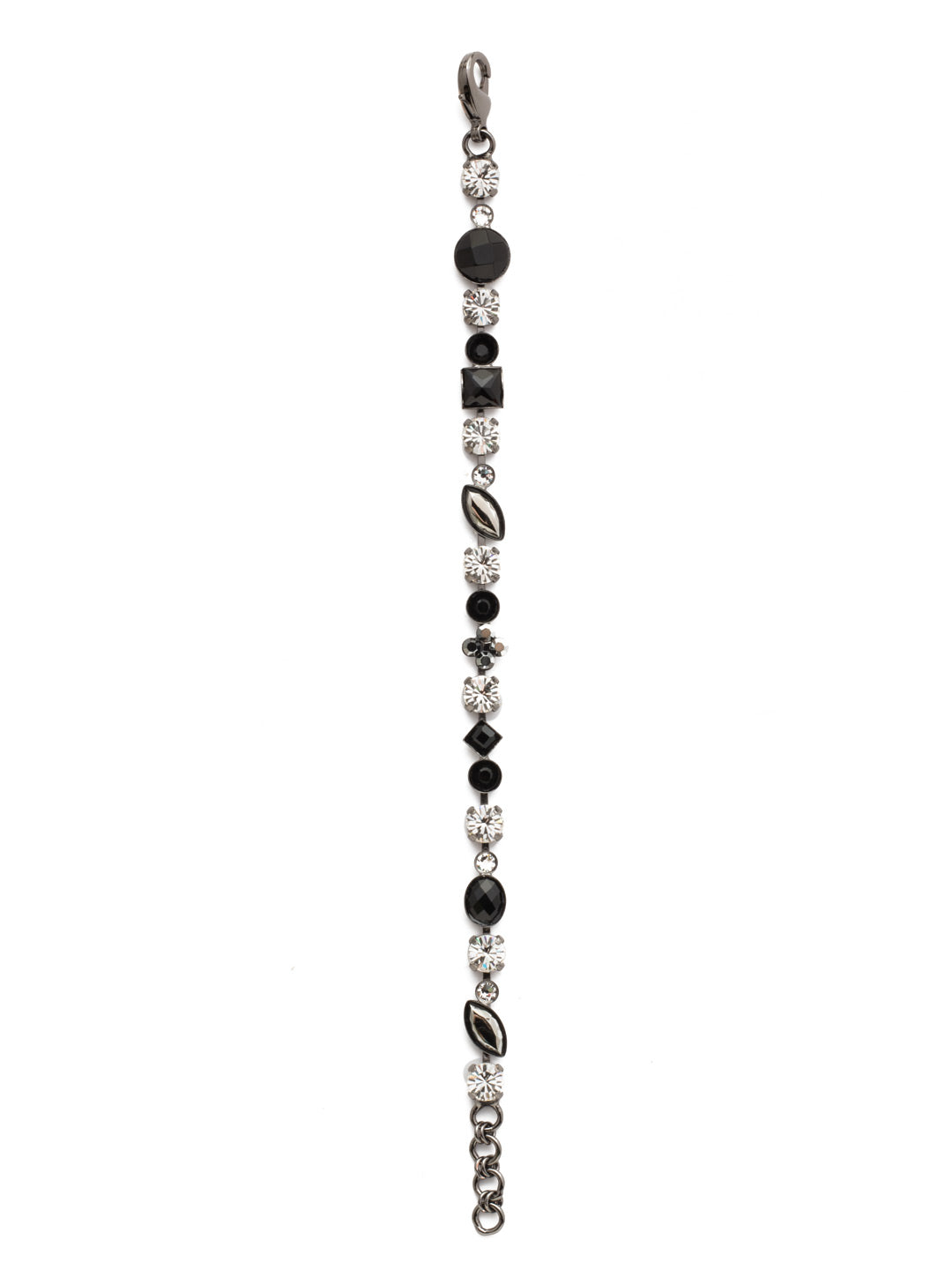 Crystal and Cabochon Tennis Bracelet - BAQ3GMMMO
