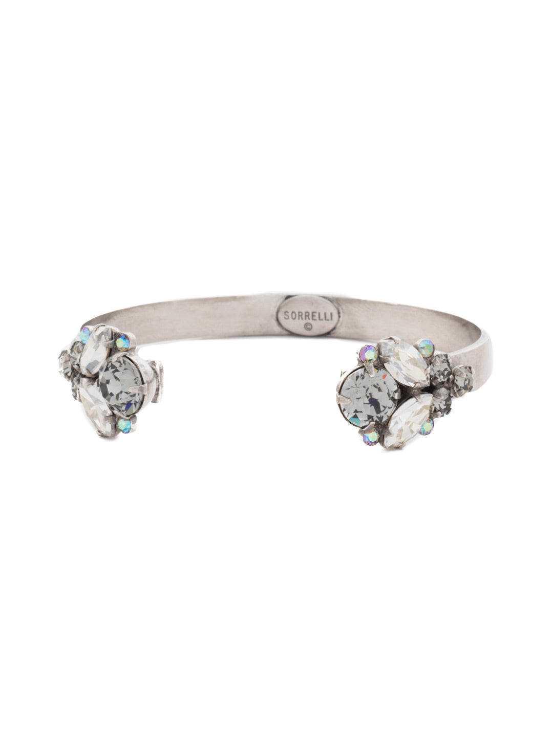 Crystal Cluster Cuff Bracelet - BCW17ASCRO