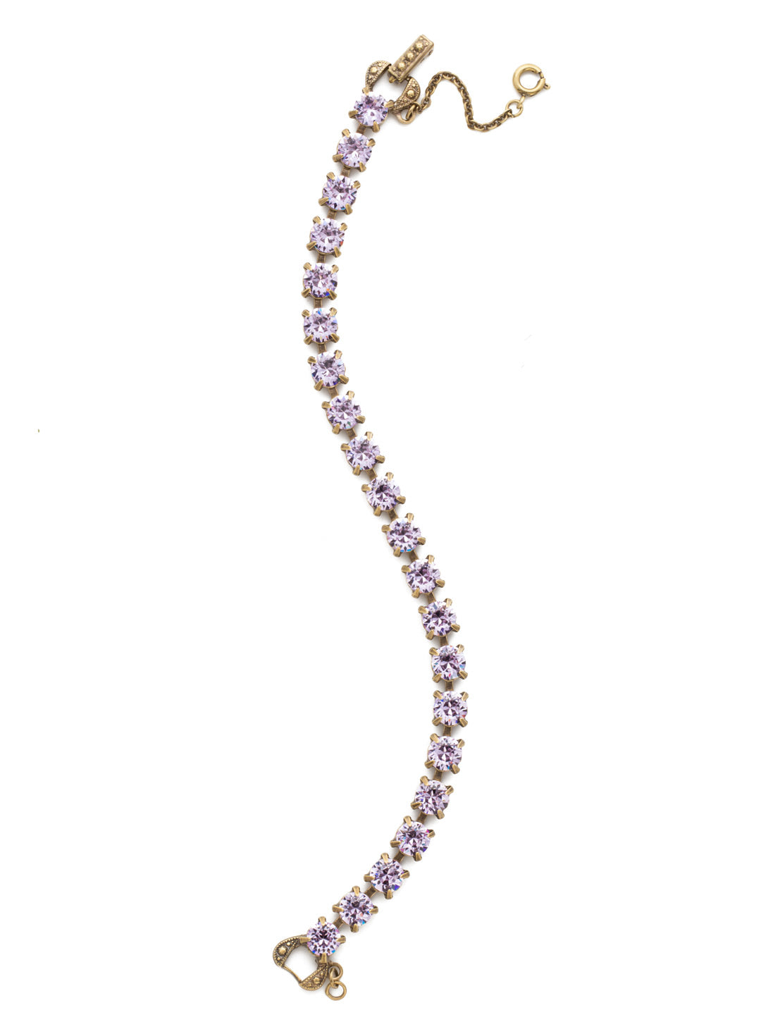 Repeating Round Tennis Bracelet - BCZ36AGVI