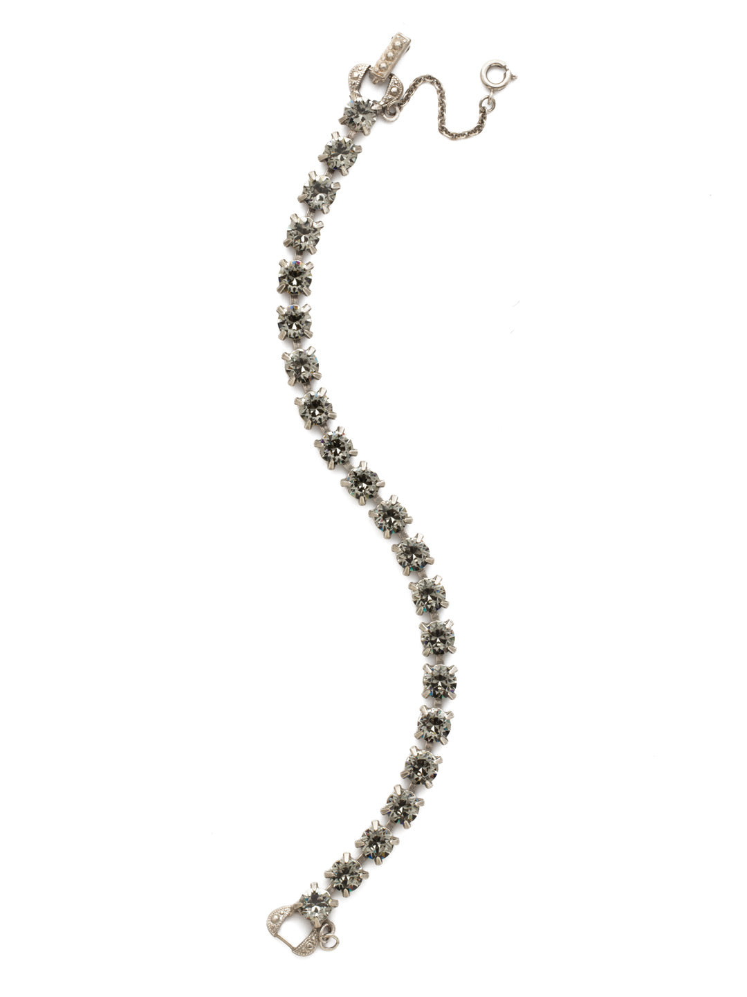 Repeating Round Tennis Bracelet - BCZ36ASBD