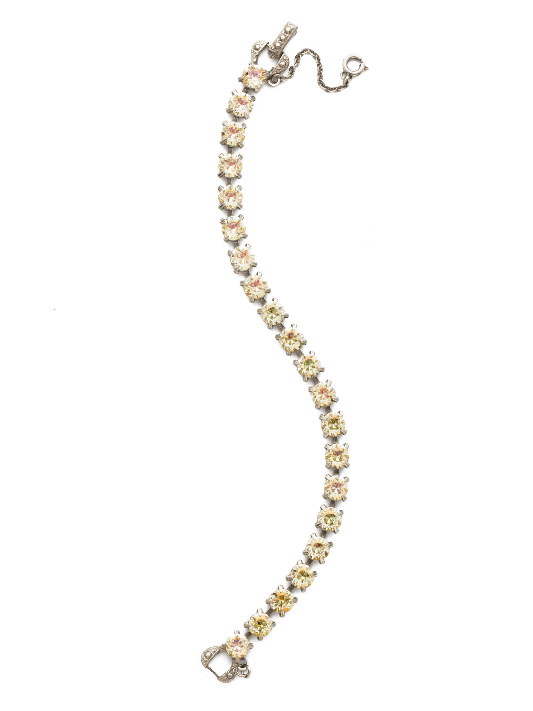 Repeating Round Tennis Bracelet - BCZ36ASCCH