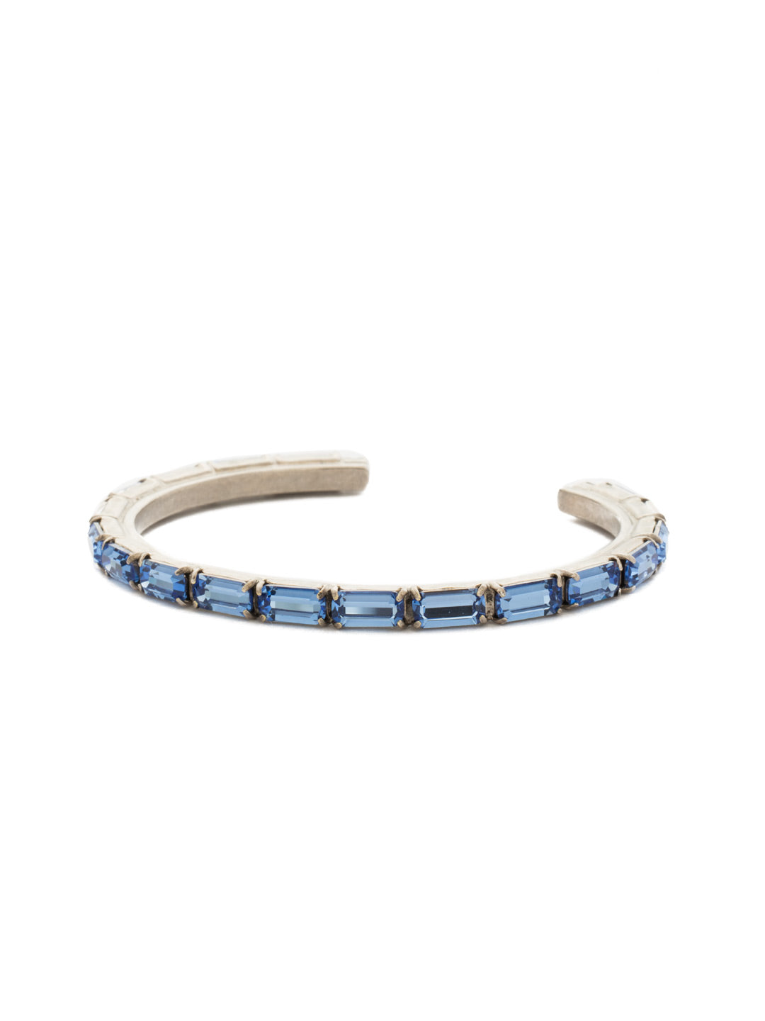 Brilliant Baguette Cuff - BDK49ASSAP
