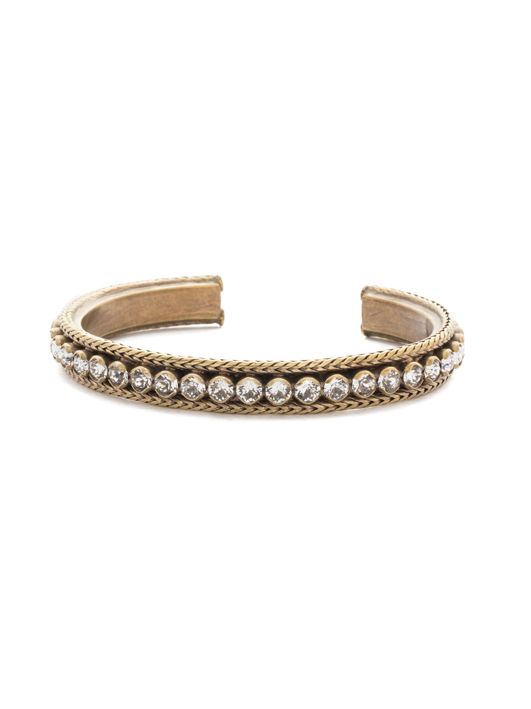 Channeling Chic Cuff Bracelet - BDM6AGCRY