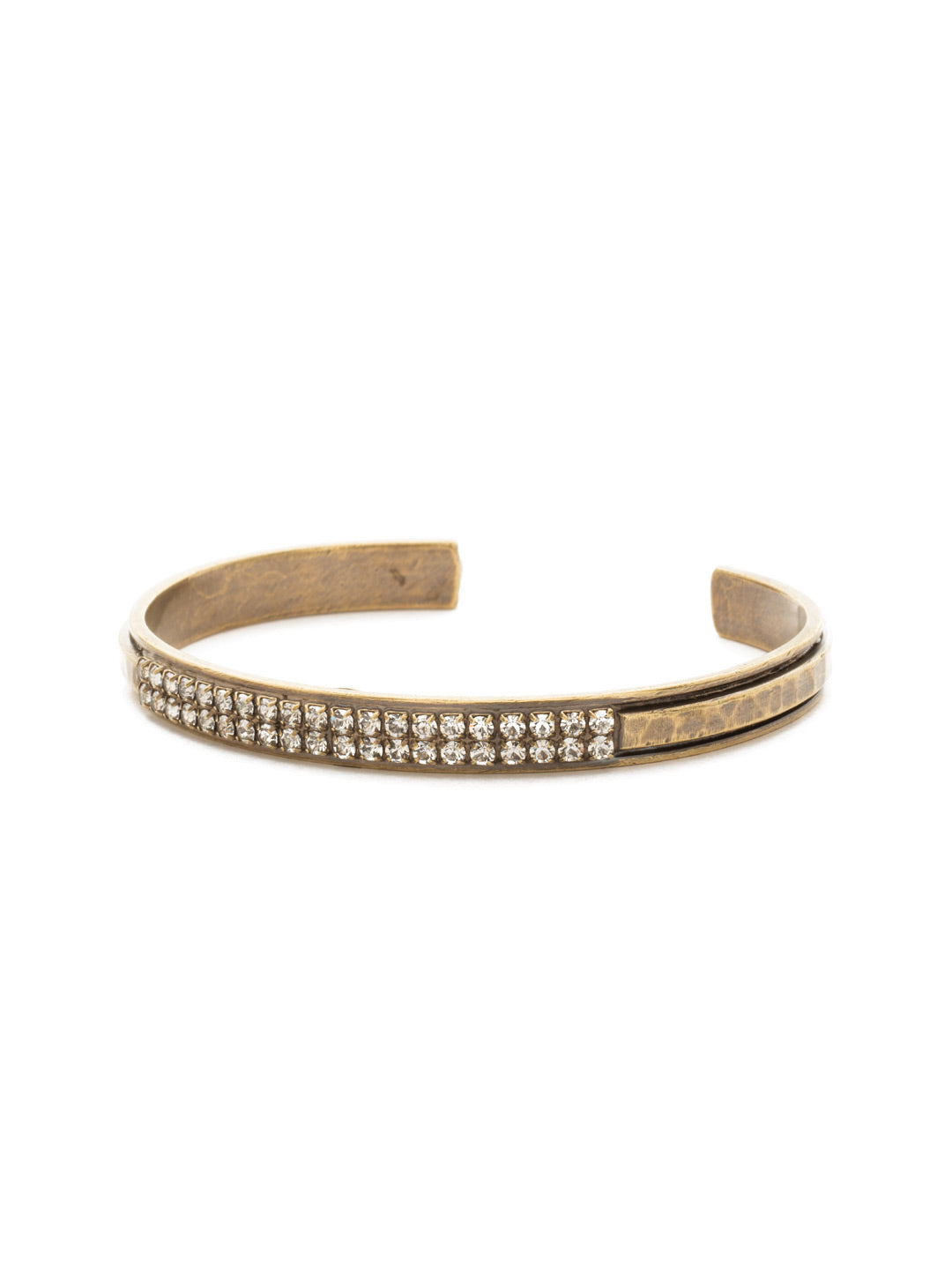 All Lined Up Cuff Bracelet - BDW22AGCRY
