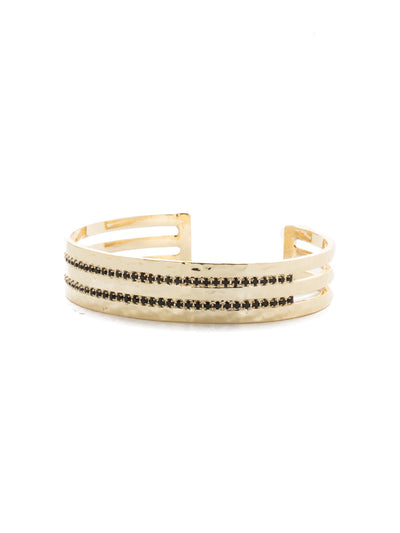 Different Layers Cuff Bracelet - BDW27BGJET
