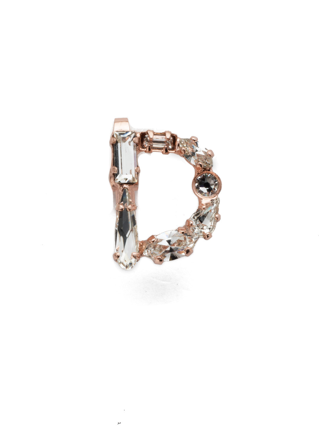 "Crystal Charm ""D"" Charm Other Accessory - CES9RGCRY"