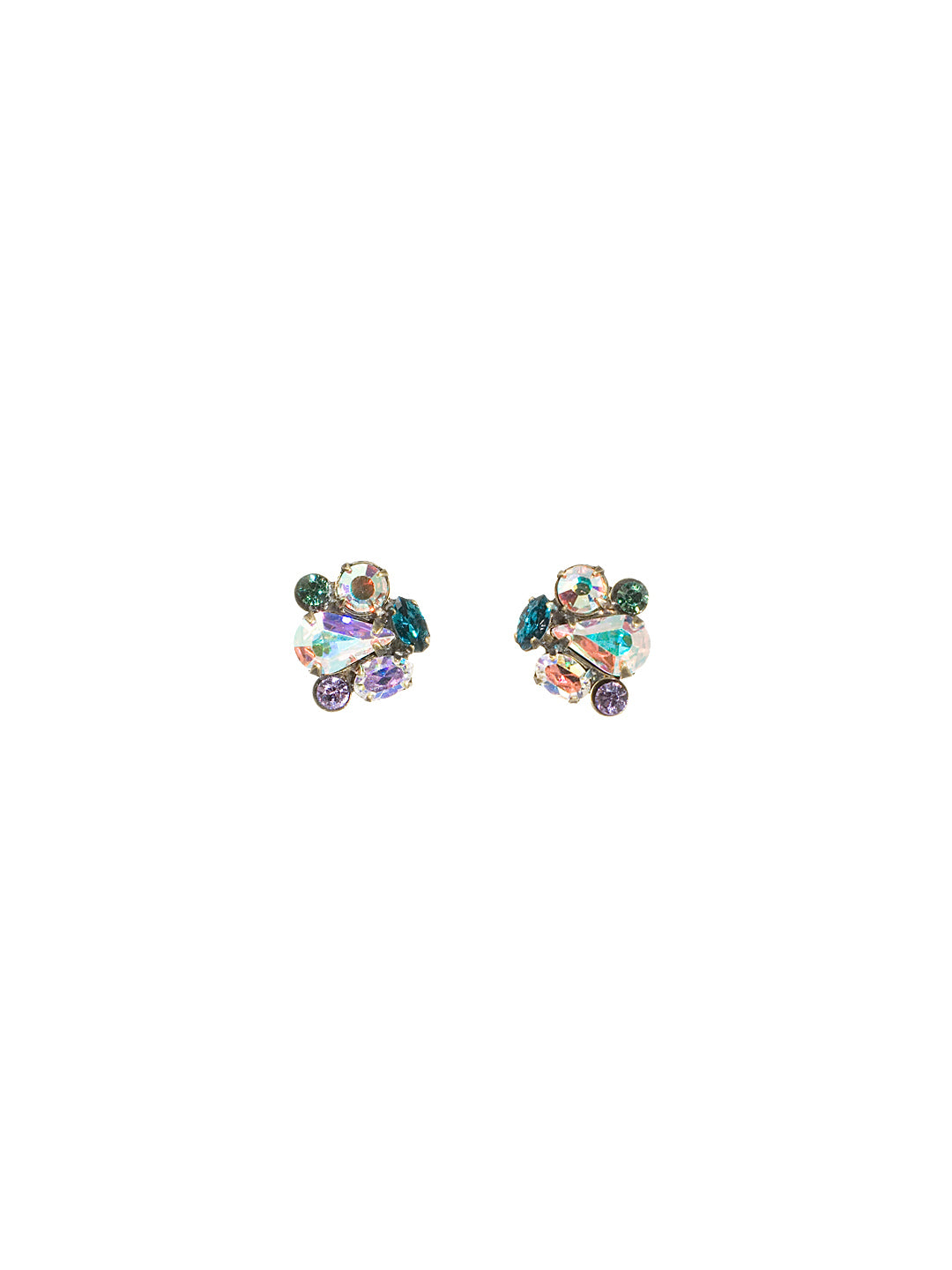Abstract Cluster Earring - EBS18AGSMI