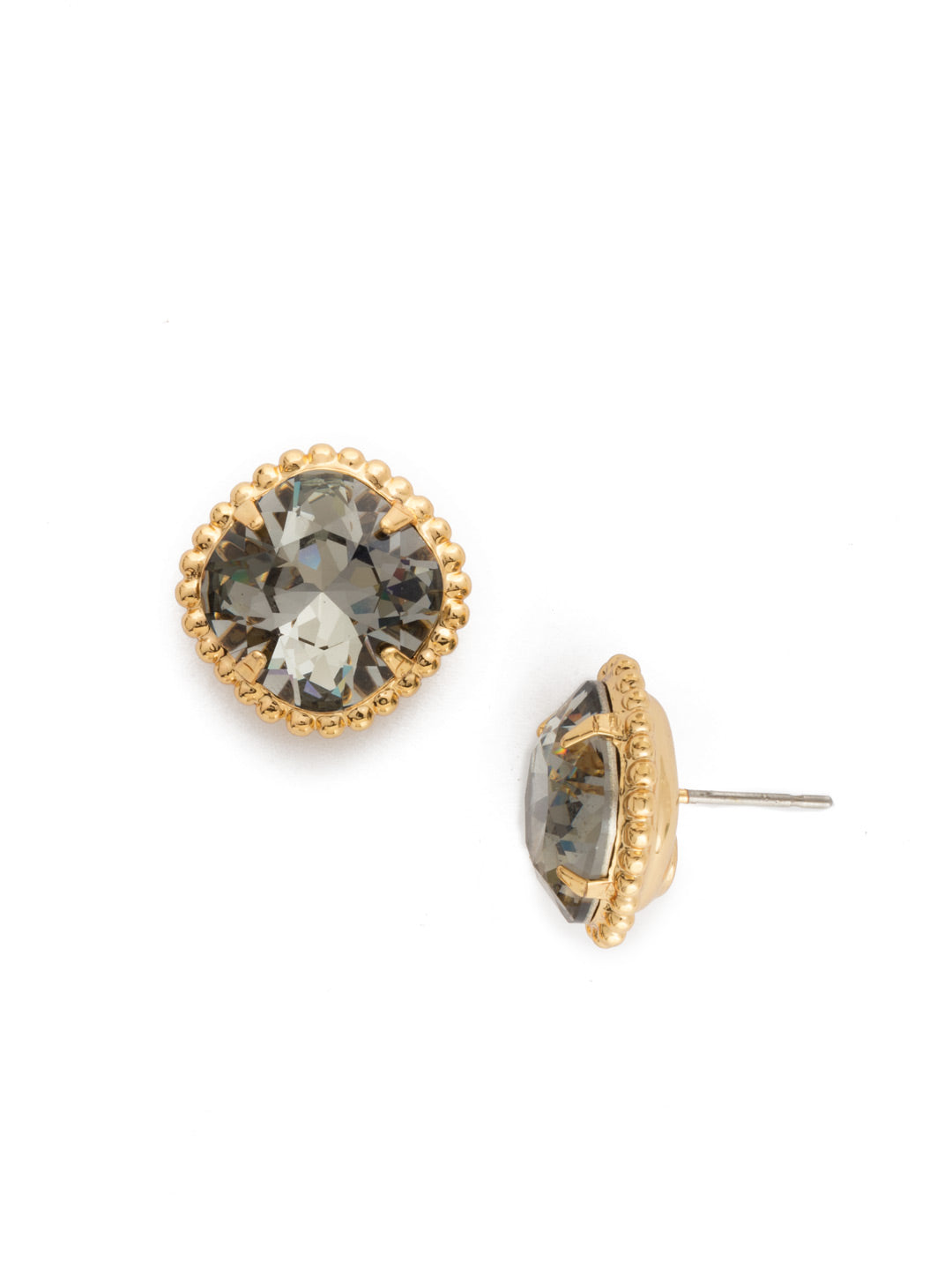 Cushion-Cut Solitaire Stud Earrings - EBX10BGBD