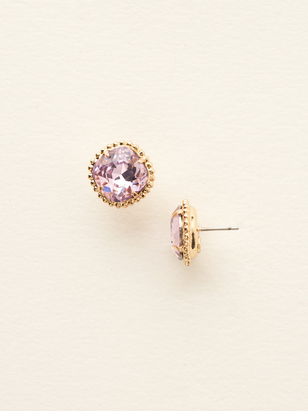 Cushion-Cut Solitaire Stud Earrings - EBX10BGLTR