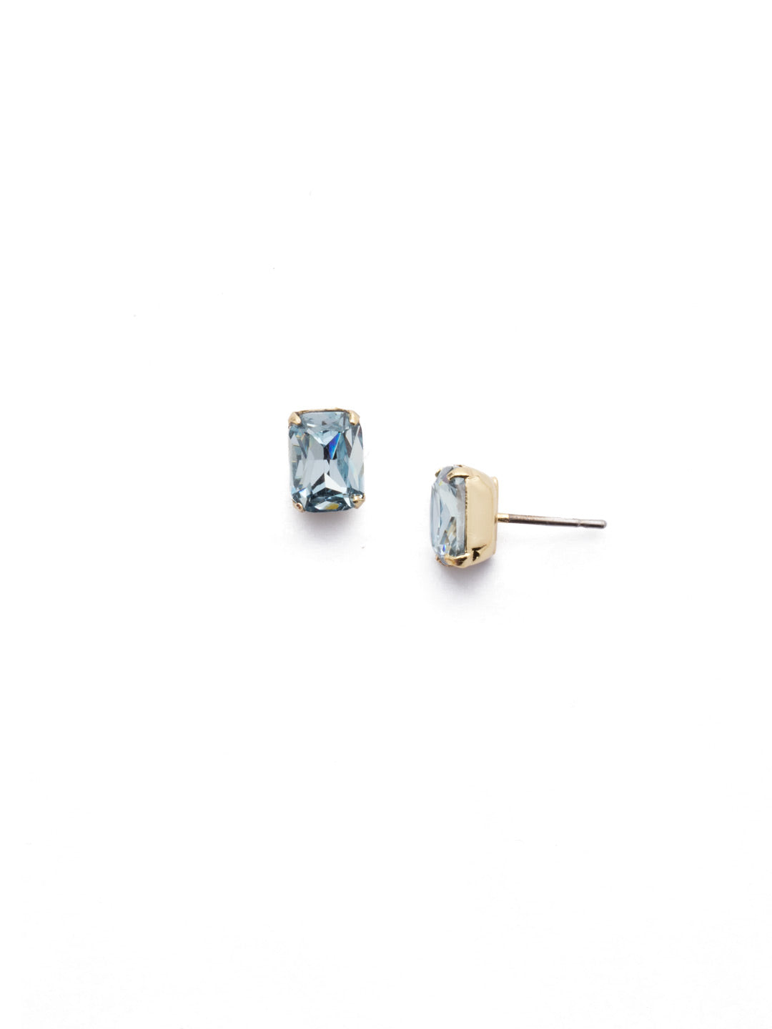 Mini Emerald Cut Stud Earrings - EBY42BGLAQ