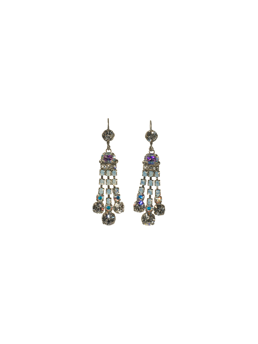 Three-Strand Dress-Up Dangle Earrings - ECC1ASWBR