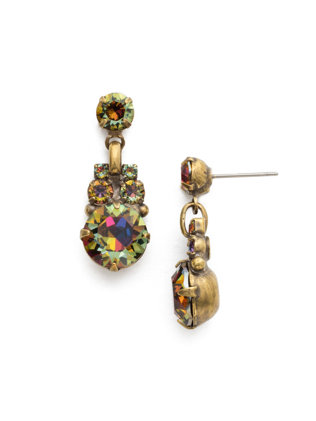 Punctuated Glamour Earring - ECL15AGVO