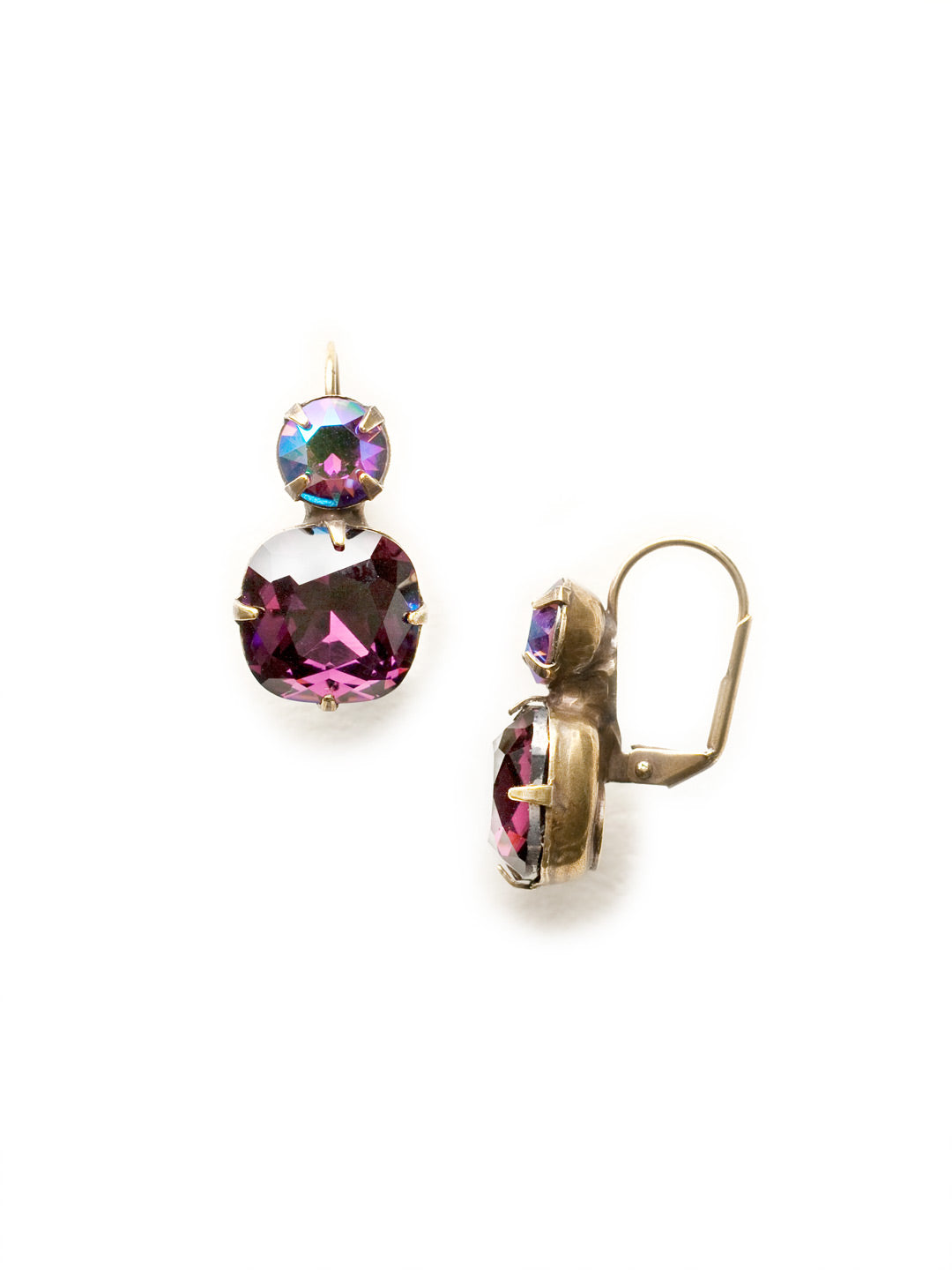 On The Edge Dangle Earrings - ECL4AGAM