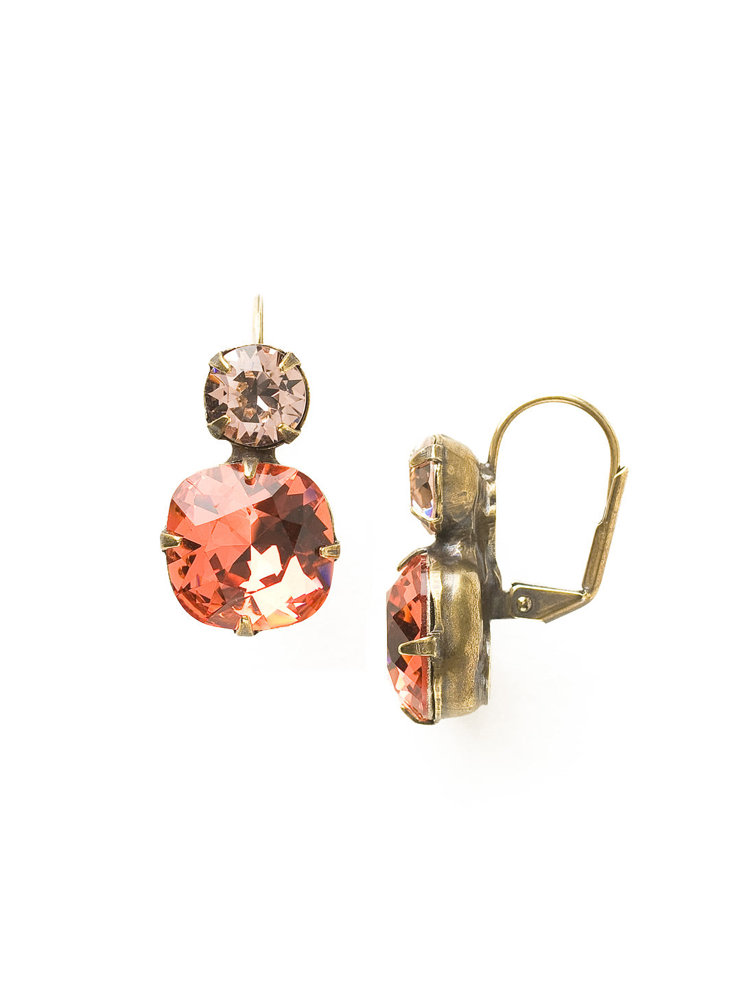 On the Edge Earring - Sorrelli Essentials - ECL4AGCRL