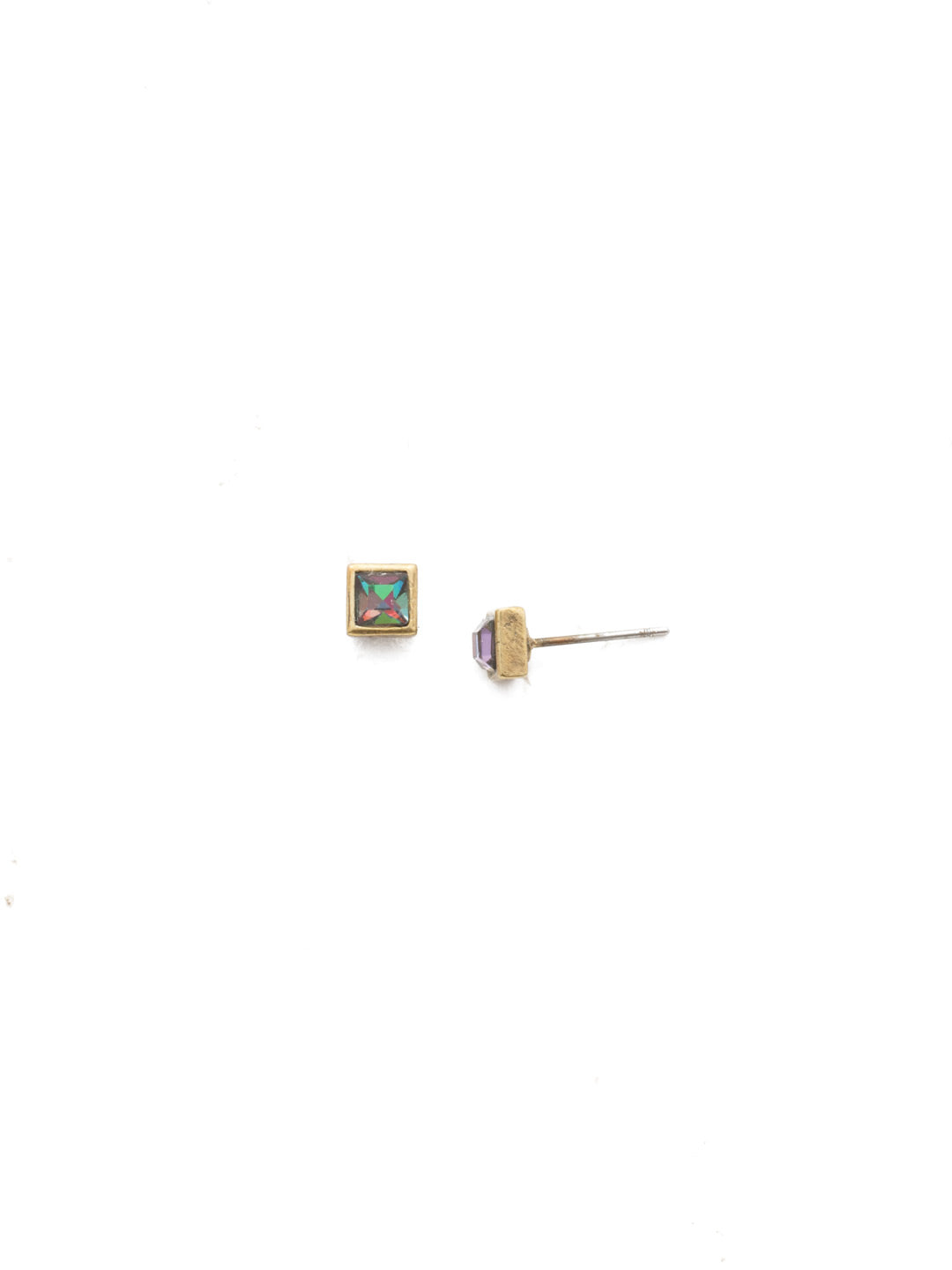 Square Stuff Stud Earrings - ECM53AGIRB