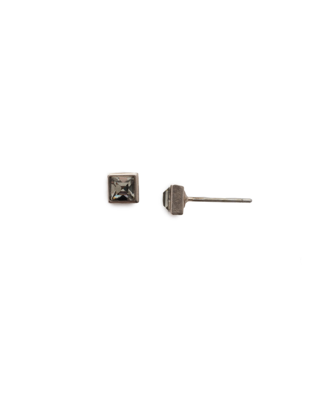 Square Stuff Stud Earrings - ECM53ASSTC