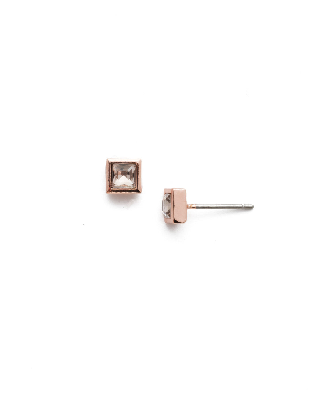 Square Stuff Stud Earrings - ECM53RGLVP