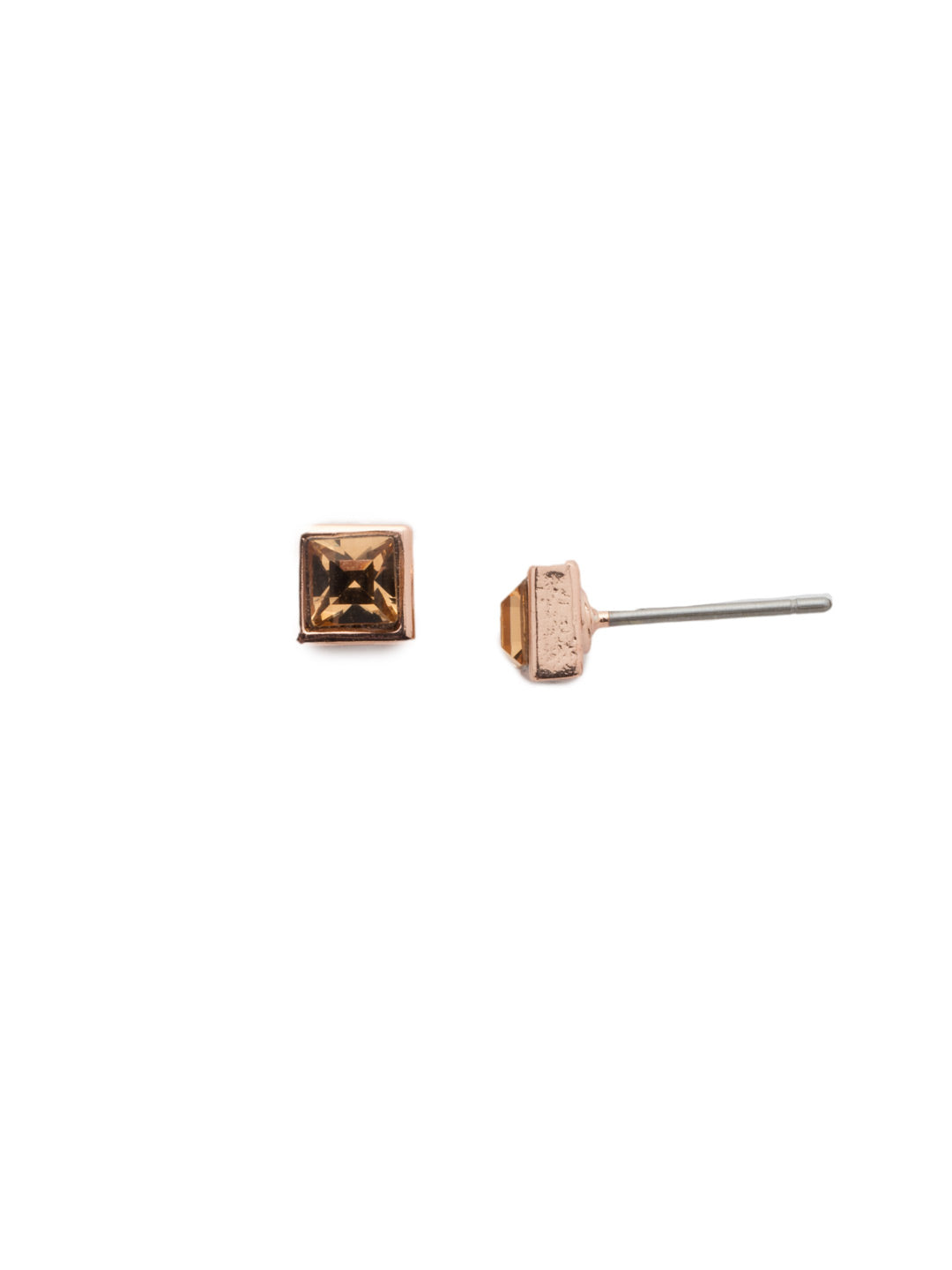 Square Stuff Stud Earrings - ECM53RGROG